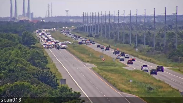 A fatal four-car crash outside Dewey Beach on Saturday was one of three serious accidents last weekend. (Delaware Department of Transportation)