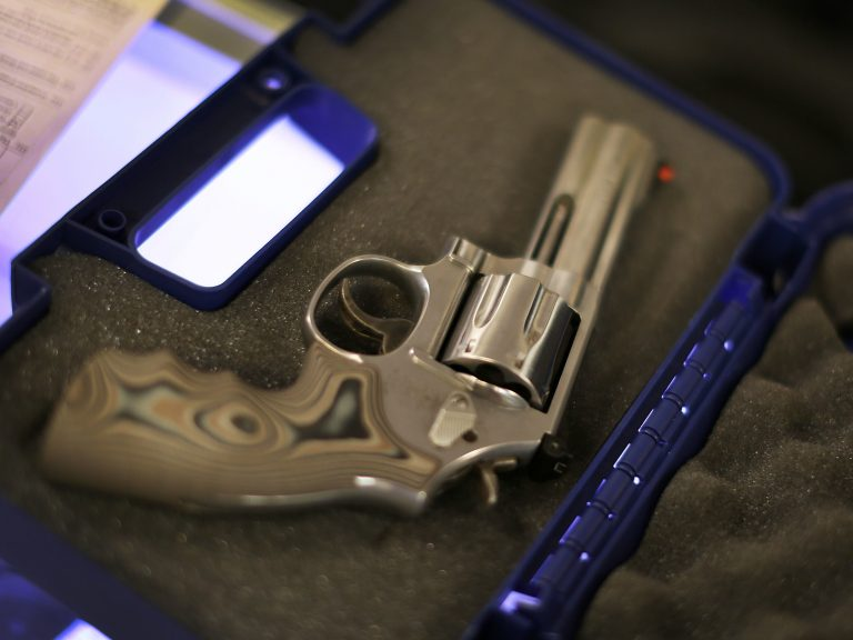 In the U.S., firearms kill more people through suicide than homicide. (Joe Raedle/Getty Images)