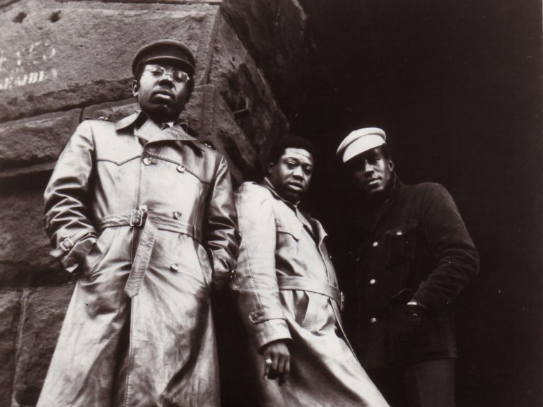 The Impressions circa 1970. Left to right: Curtis Mayfield, Fred Cash and Sam Gooden. (Gilles Petard/Redferns/Getty Images)