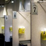 What it looks like inside one of Vancouver's Insitesupervised injection facilities. (Elana Gordon/WHYY)