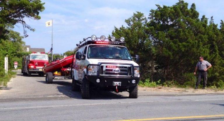 Seaside Heights water rescue truck