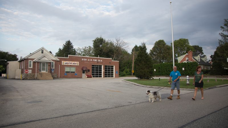 The Bon Air volunteer firefighting company was temporarily closed by Haverford Township on September 4th after it came to light that a member had sought membership with the Proud Boys. On September 9th, the township announced it would reopen the company. (Emily Cohen for WHYY)