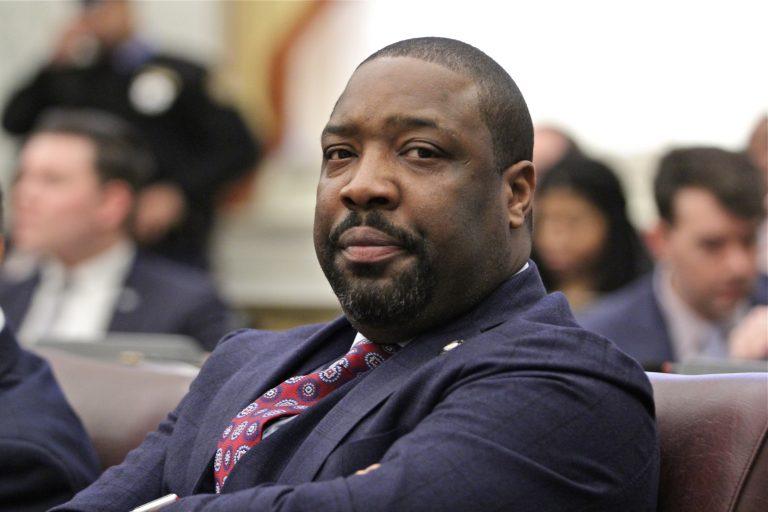 Philadelphia City Councilmember Kenyatta Johnson. (Emma Lee/WHYY)