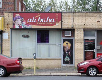 Ali Baba Hookah Lounge on Castor Avenue in Northeast Philadelphia. (Emma Lee/WHYY)