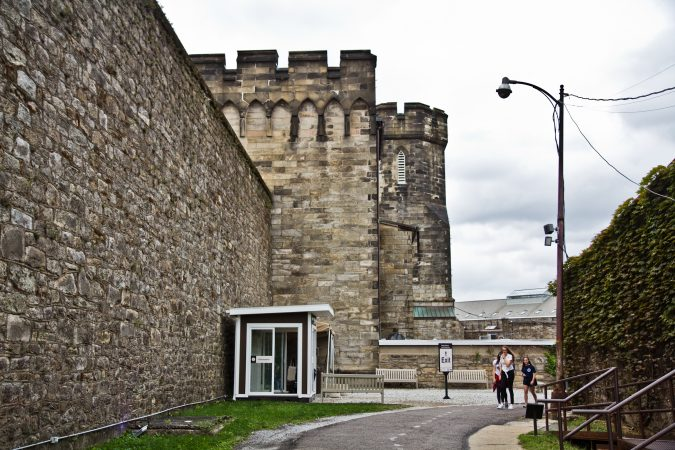 Eastern State Penitentiary in Philadelphia holds Terror Behind the Walls, one of America's largest haunted attractions, every year. (Kimberly Paynter/WHYY)
