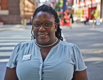 Philadelphia City Council candidate Kendra Brooks. (Kimberly Paynter/WHYY)