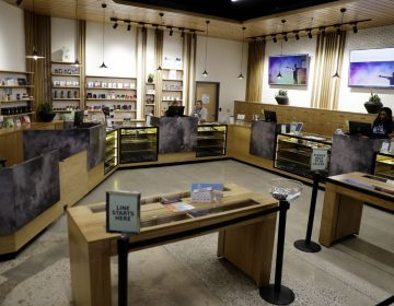 The sales floor of Beyond/Hello, Center City Philadelphia's first medical marijuana dispensary is seen, Thursday, Jan. 24, 2019. (Matt Slocum/AP Photo)