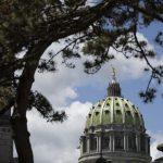 Shown is the Pennsylvania Capitol in Harrisburg, Pa., Monday, May 6, 2019. (Matt Rourke/AP Photo)