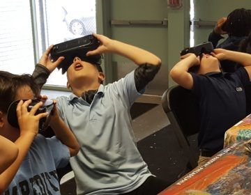 The Barnes Foundation is bringing VR goggles to libraries, recreation centers and senior centers around Philadelphia to reach people who may have never been to an art museum. (Provided)