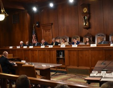 Senators listen during a Senate Judiciary Committee hearing on September 25, 2019, in Harrisburg, Pa. (Ed Mahon/PA Post)