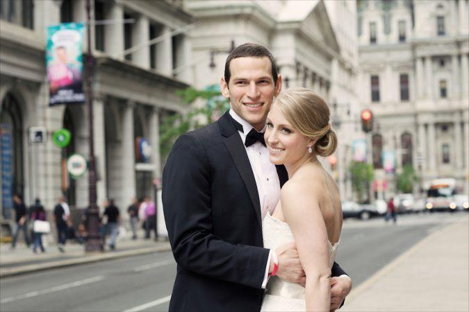 David and Caitlin's wedding photo. Courtesy of David Fajgenbaum