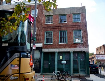 The former John Grass Wood Turning Company on North 2nd Street in Old City. (Kimberly Paynter/WHYY)