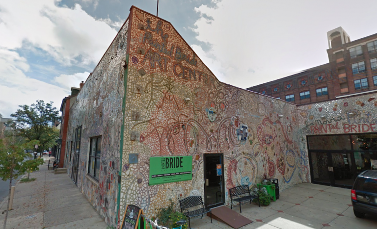 The Painted Bride Art Center in Old City (Google maps)