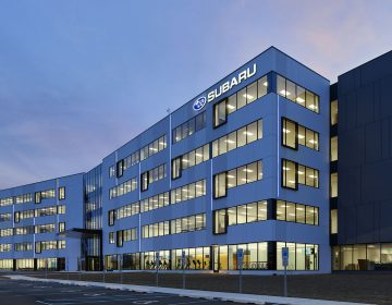 New Subaru of America headquarters in Camden (Courtesy Subaru of America)