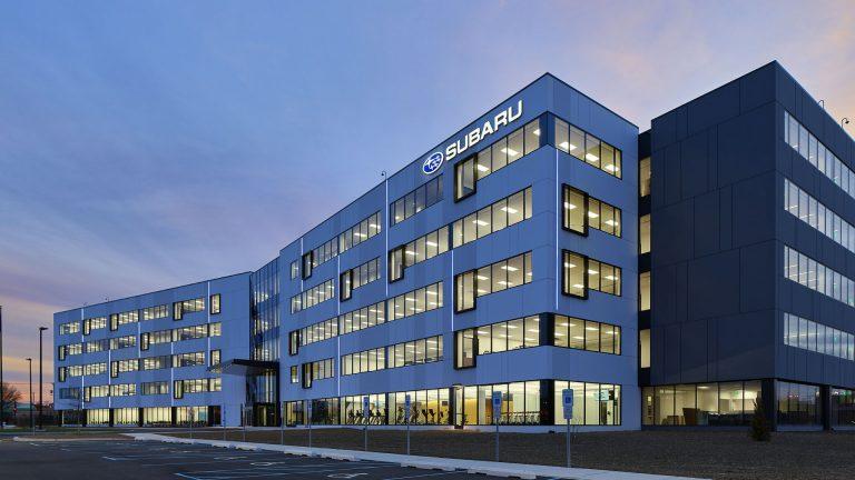 New Subaru of America headquarters in Camden (Courtesy Subaru of America)