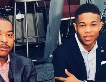 Brothers Antonio (left) and Juwan Bennett have launched a police pipeline mentorship program. ( Courtesy of Juwan Bennett)