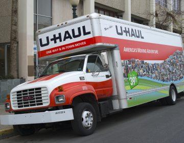 U Haul truck