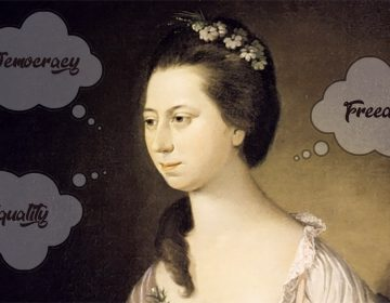 Eliza Powel was a woman with strong ideas, and she wasn't afraid to express them PORTRAIT OF ELIZABETH POWEL / BILLY PENN ILLUSTRATION