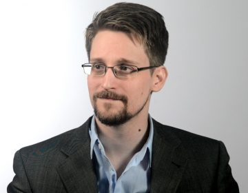 Reflecting on his decision to go public with classified information, Edward Snowden says, 'The likeliest outcome for me, hands down, was that I'd spend the rest of my life in an orange jumpsuit, but that was a risk that I had to take.' (Courtesy of Edward Snowden)