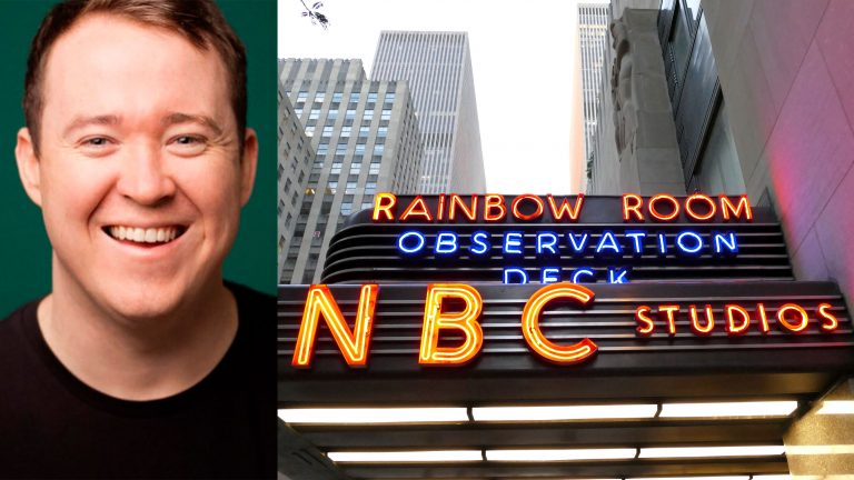 Shane Gillis (Phil Provencio/NBC via AP) and NBC Studios (Golden Brown/BigStock)
