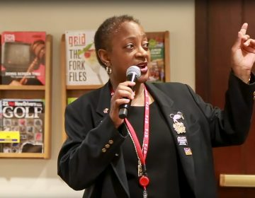 Tanya Covington is better known as 'jury duty lady' (Courtesy of Philly Courts)