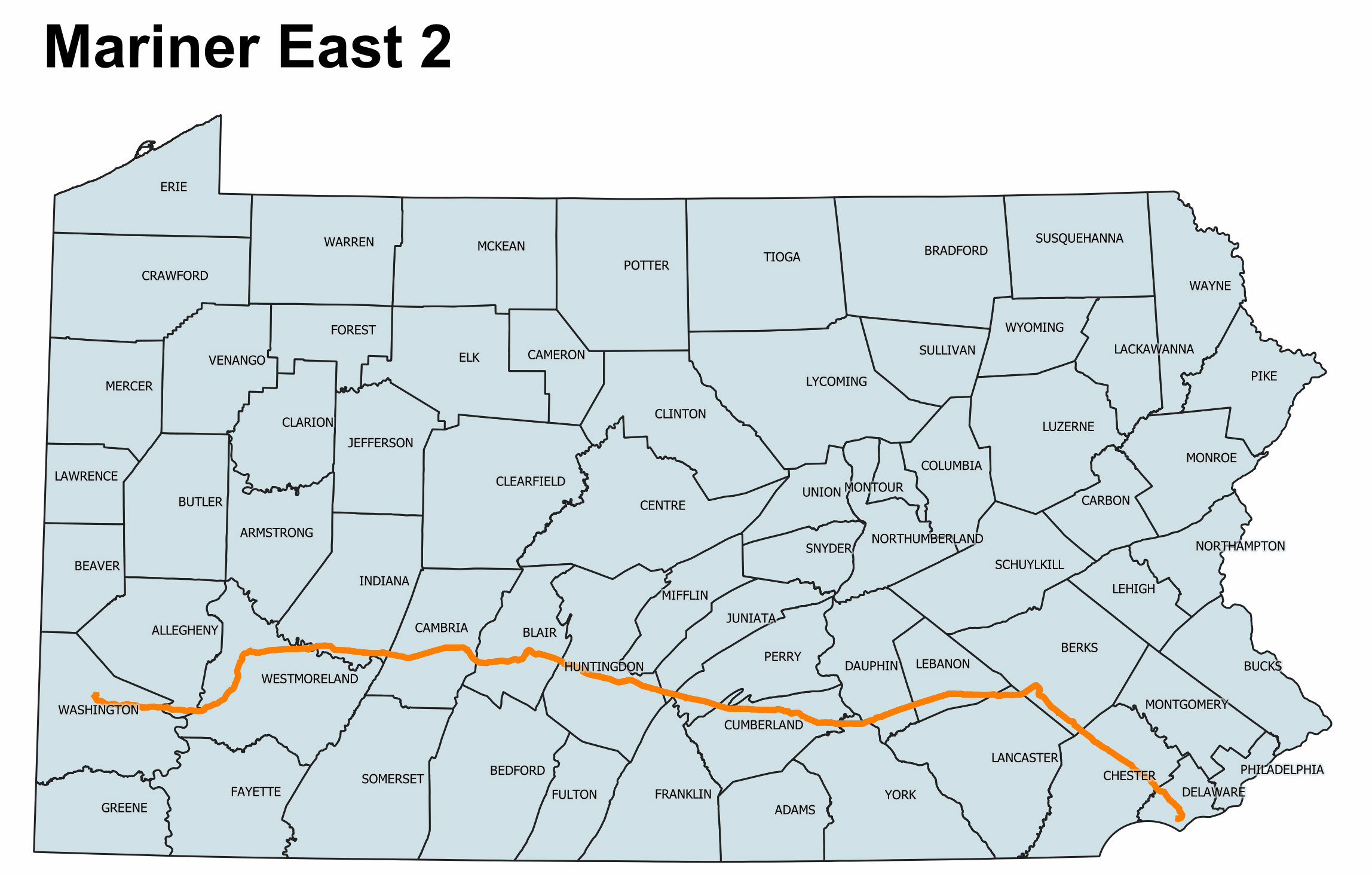 Picture of: Mariner East Construction Will Restart In Chester County Whyy