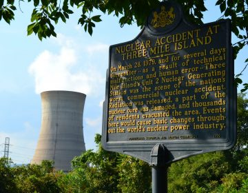 Three Mile Island nuclear power plant, which closed Sept. 20, 2019. (Brett Sholtis/WITF)