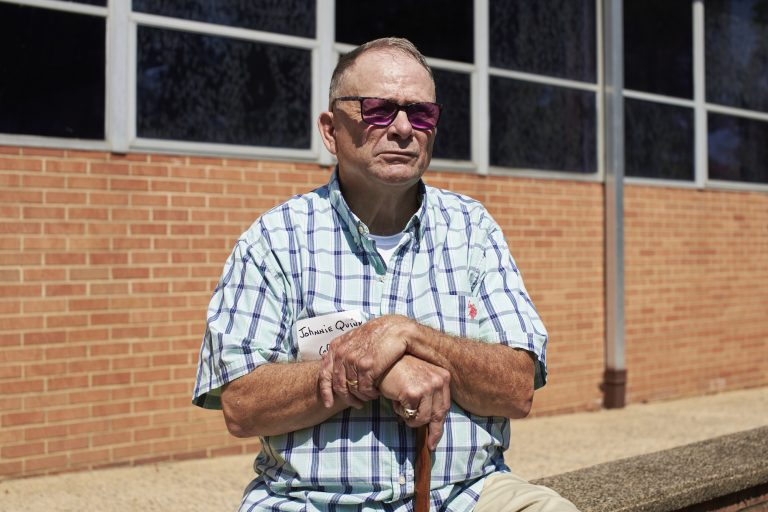 John Quinn, 67, attended St. Francis Vocational School for a couple of months in the 1960s, along with other Catholic orphanages including St. John's, St. Joseph's, St. Michael's and St. Mary's. Quinn says it was during that time that he was molested by priests and counselors. (Natalie Piserchio for WHYY)