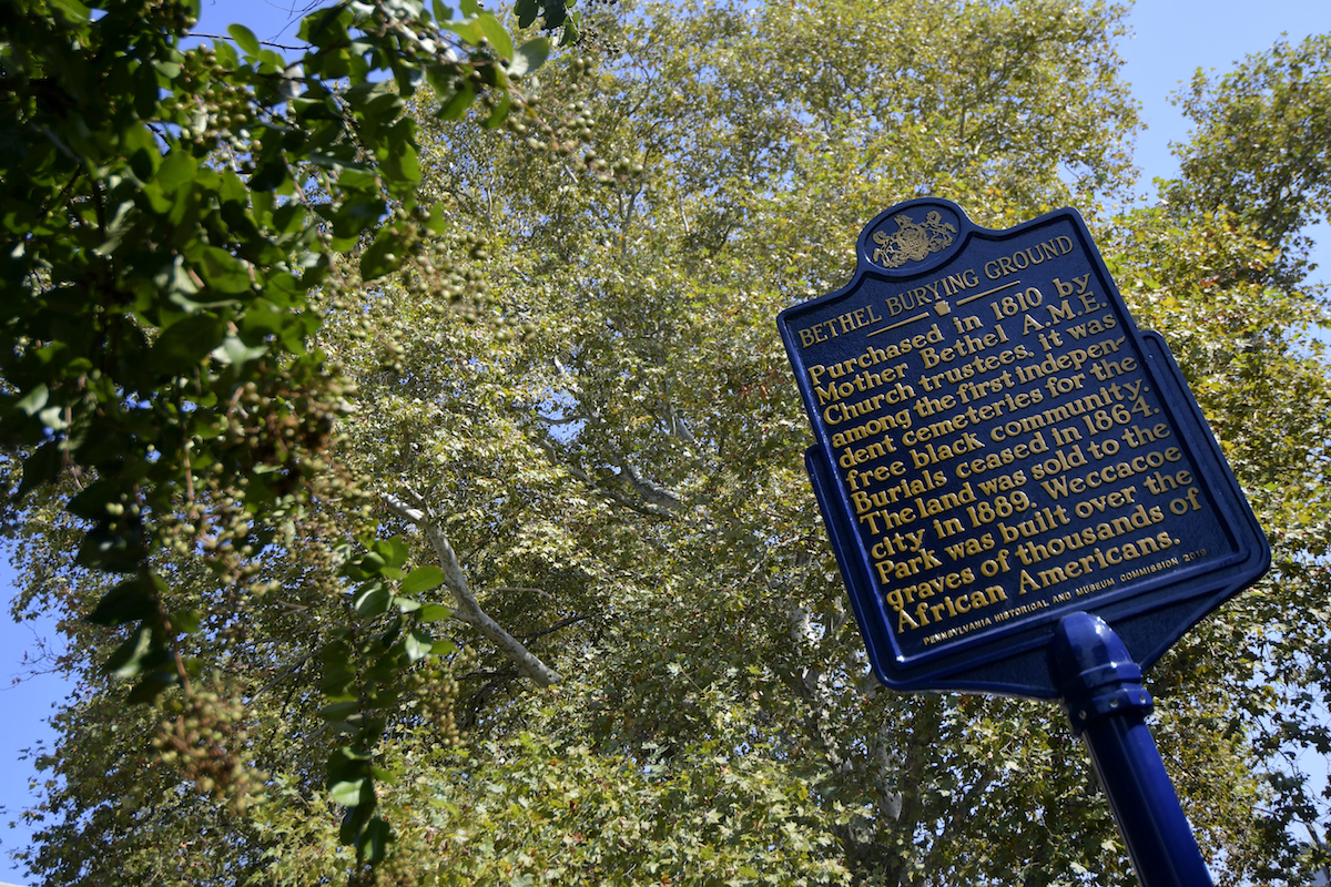 As Mother Bethel burial ground gets historical marker, community reflects on those forgotten