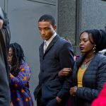 Defendant Michael White leaves court on Tuesday afternoon. (Kimberly Paynter/WHYY)