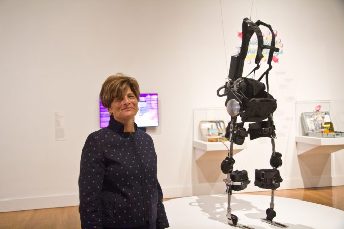 Kathryn Hiesinger is a curator at the Philadelphia Museum of Art. (Kimberly Paynter/WHYY)