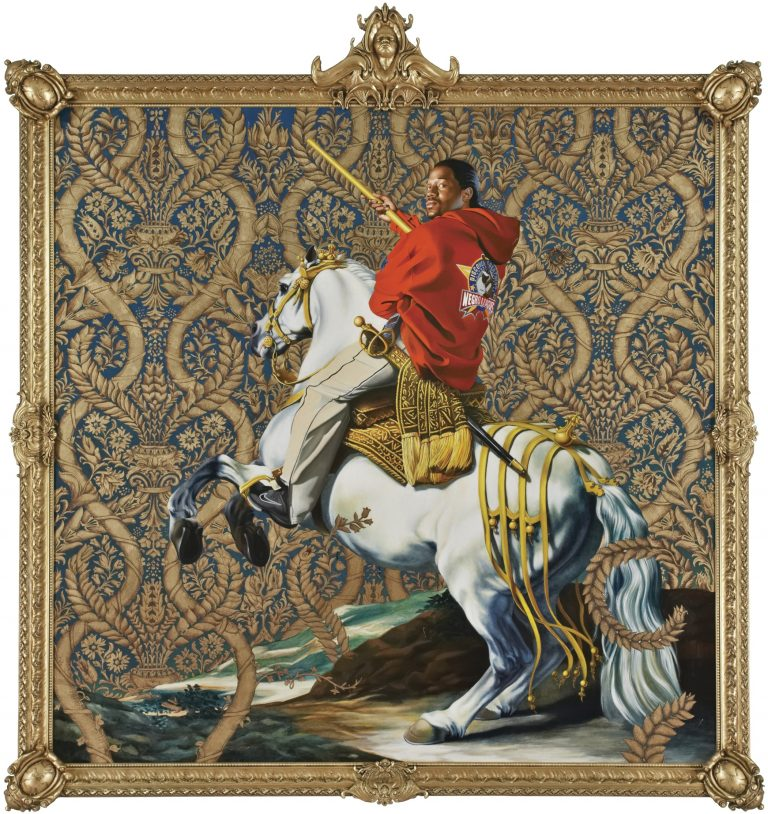 Artwork by Kehinde Wiley. (Courtesy of Rubell Family Collection, Miami)