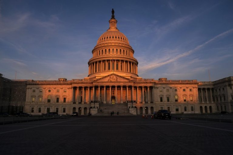 In this Sept. 25, 2019, file photo, the West Front of the U.S. Capitol in Washington. Impeachment may have leapfrogged to the top of the national agenda, but members of Congress still have their day jobs as legislators _ and they're returning to work this coming week with mixed hopes of success. (J. Scott Applewhite/AP Photo)