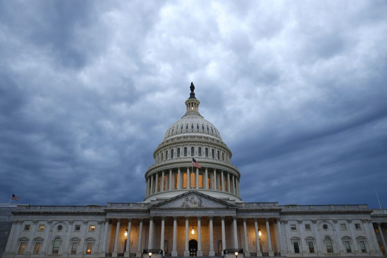 Clouds roll over the U.S. Capitol dome on Capitol Hill, Wednesday, June 12, 2019, in Washington. (Patrick Semansky/AP Photo)