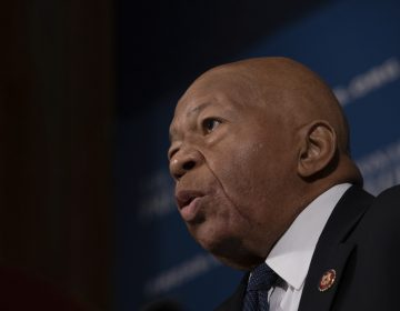 Rep. Elijah Cummings, D-Md., chairman of the House Committee on Oversight and Government Reform, speaks at a National Press Club Headliners luncheon in Washington, D.C., on Wednesday, August 7, 2019.  U.S. Rep. Cummings has died from complications of longtime health challenges, his office said in a statement on Oct. 17, 2019. (Photo by Cheriss May/Sipa USA)(Sipa via AP Images)