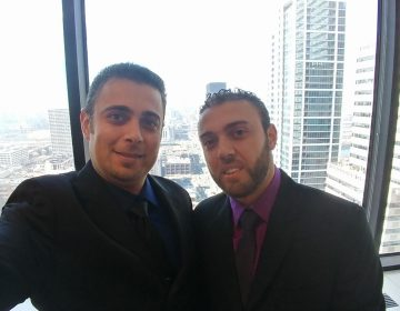 Brothers Imad, left, and Bahaa Dawara. (Facebook)