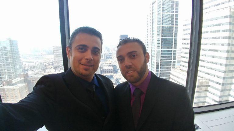 Brothers Imad, left, and Bahaa Dawara. (Facebook)