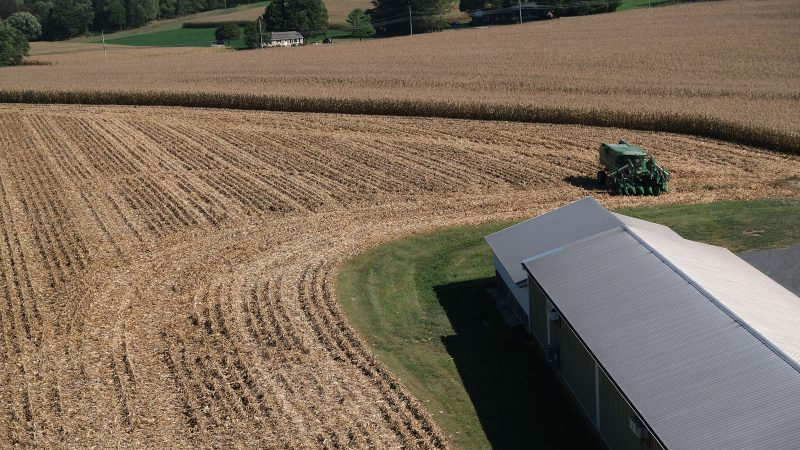 A look at the facility at Cairns Family Farm on Sept. 25, 2019, in Sadsbury Township, Pennsylvania. (Matt Smith for Keystone Crossroads)