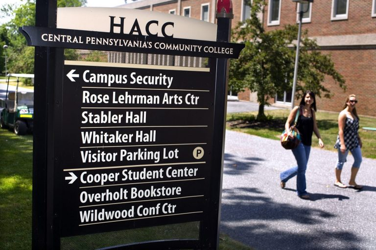 The Harrisburg Area Community College — which serves more than 17,000 students on campuses in Harrisburg York, Lancaster, Lebanon and Gettysburg — has eliminated all on-campus mental health counseling, a move experts said was risky at a time of growing demand. (Courtesy of PennLive)