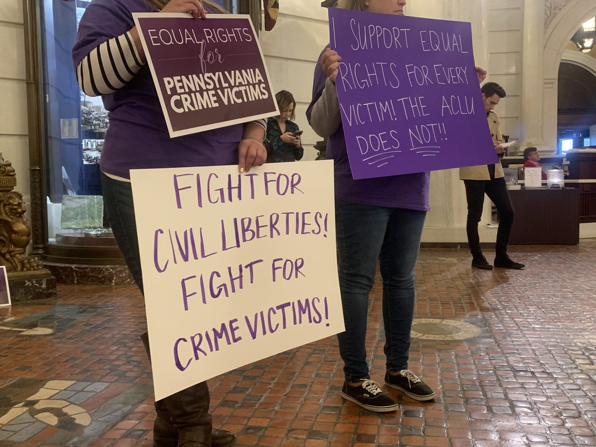 ACLU files last-minute suit arguing Pa.'s Marsy's Law amendment is unconstitutional