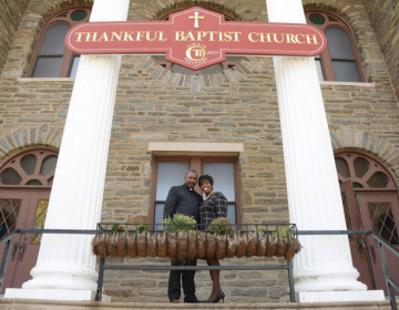 Thankful Baptist Church pastor, the Rev. Gregory Ross and his wife, first lady Beatrice Ross. (Marissa Weekes Mason/The Philadelphia Tribune)