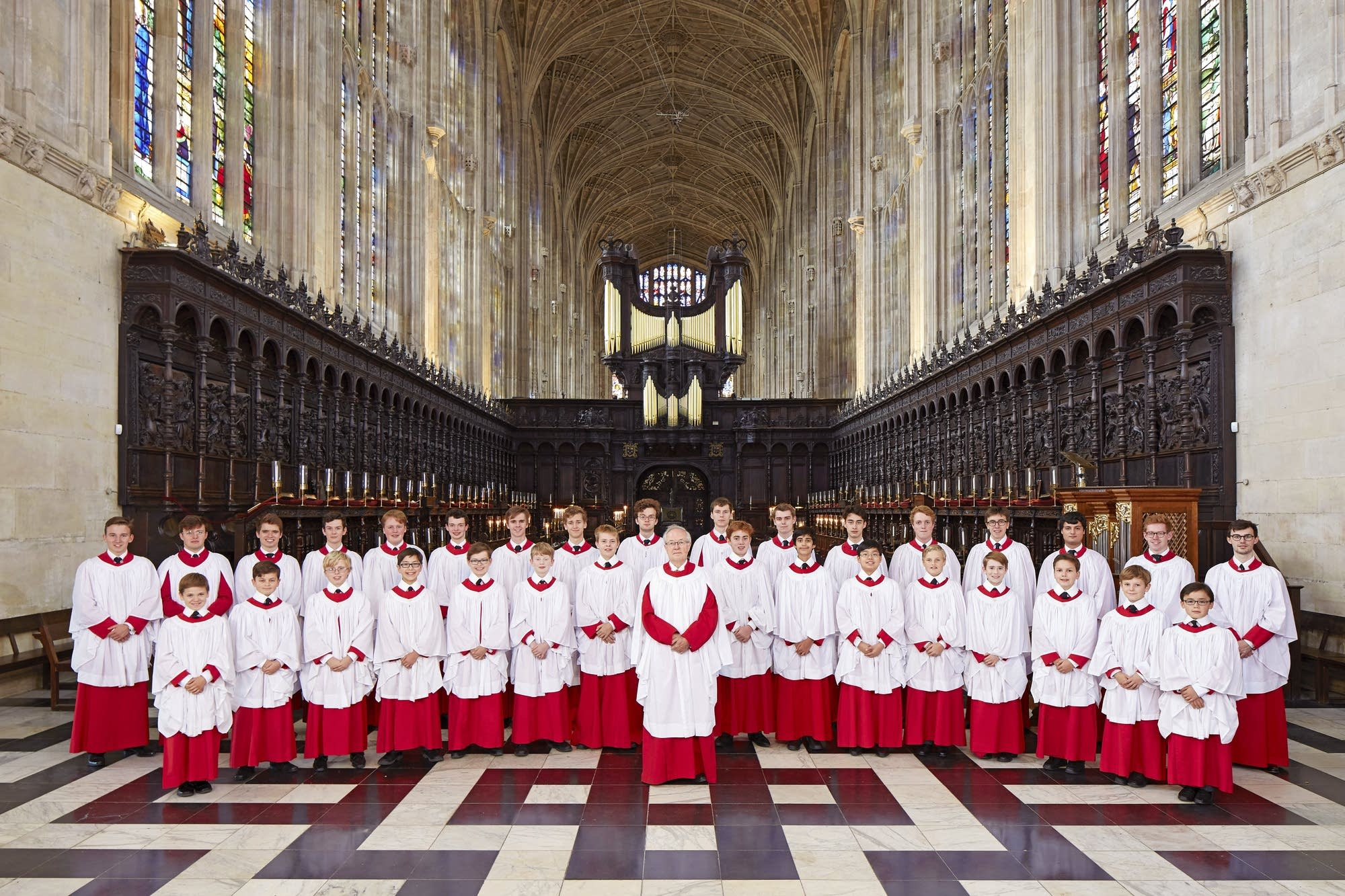 Festival of Nine Lessons and Carols at King's College in Cambridge, England