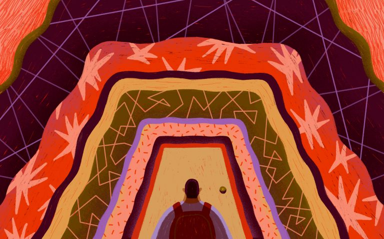Office hours can be intimidating.(Grace HeeJung Kim/NPR)