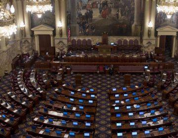 Shown is the Pennsylvania House of Representatives chamber Tuesday, Dec. 8, 2015, in Harrisburg, Pa. (Matt Rourke/AP Photo)