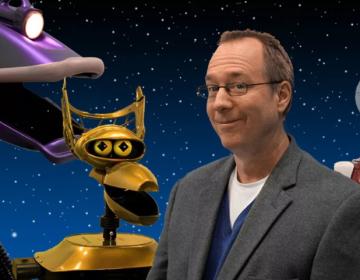 Joel Hodgson and the MST3k robots (Shout Factory)