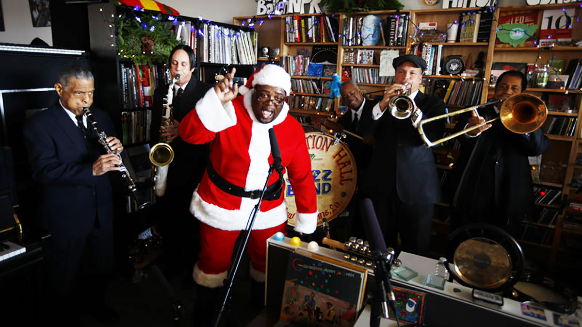 The Big Tiny Desk Concert Holiday Special