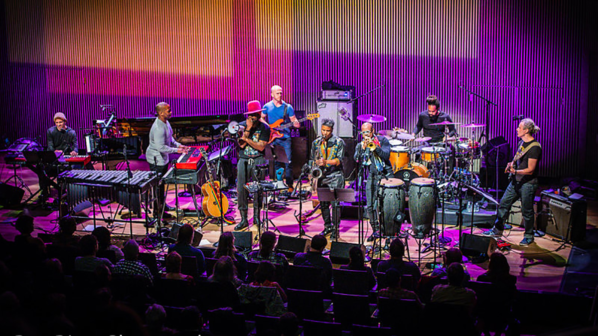 The SFJAZZ Collective, performing live from the Robert N. Miner Auditorium in San Francisco