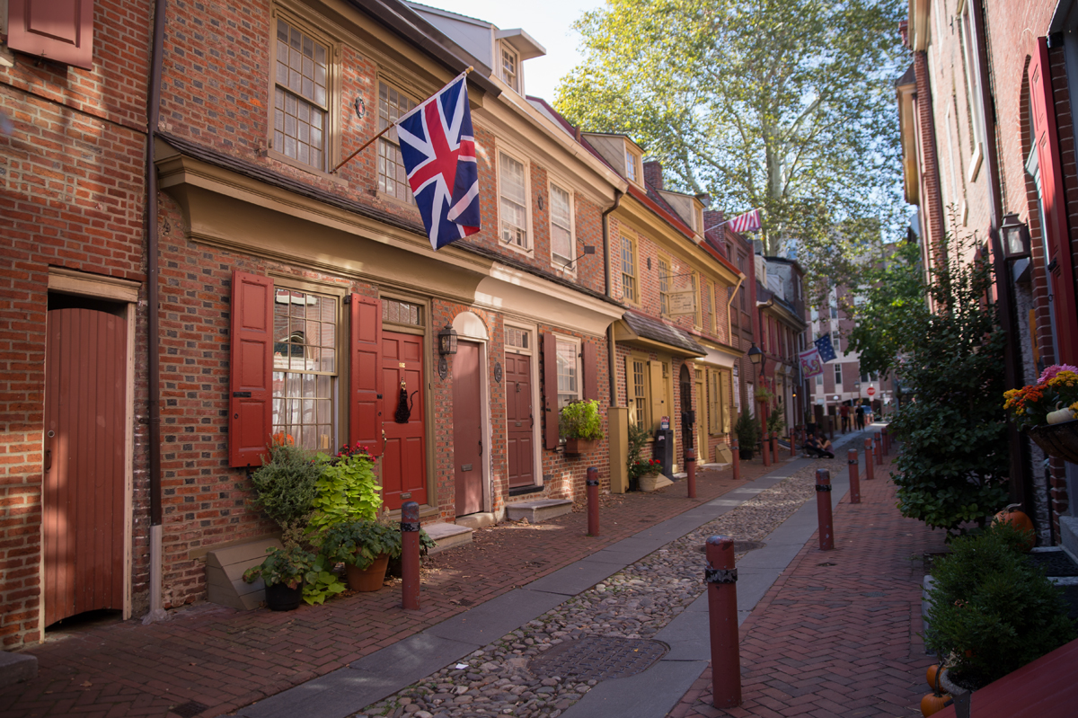 Elfreth's Alley in Old City