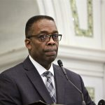 Philadelphia City Council President Darrell Clarke. (Emma Lee/WHYY)