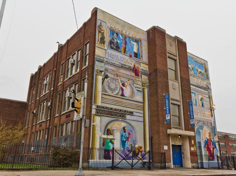Mastery Frederick Douglass Elementary School in North Philadelphia. (Kimberly Paynter/WHYY)
